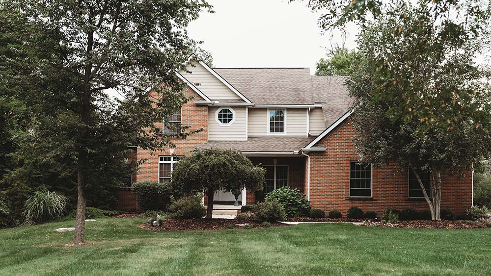 Beautiful 2-story brick and wood home ready to customize in Zwayer Woods