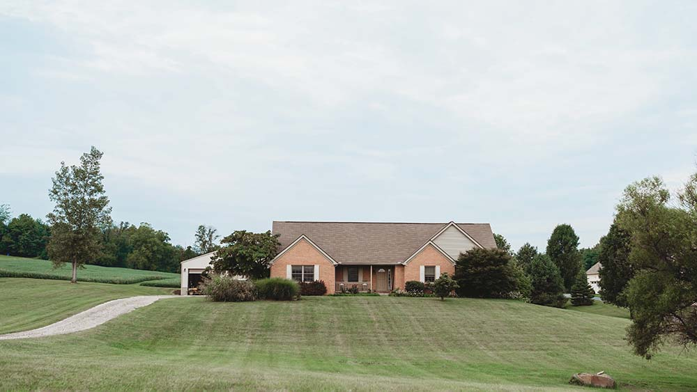 Ranch home built by Meadows Custom Homes for Zwayer Woods