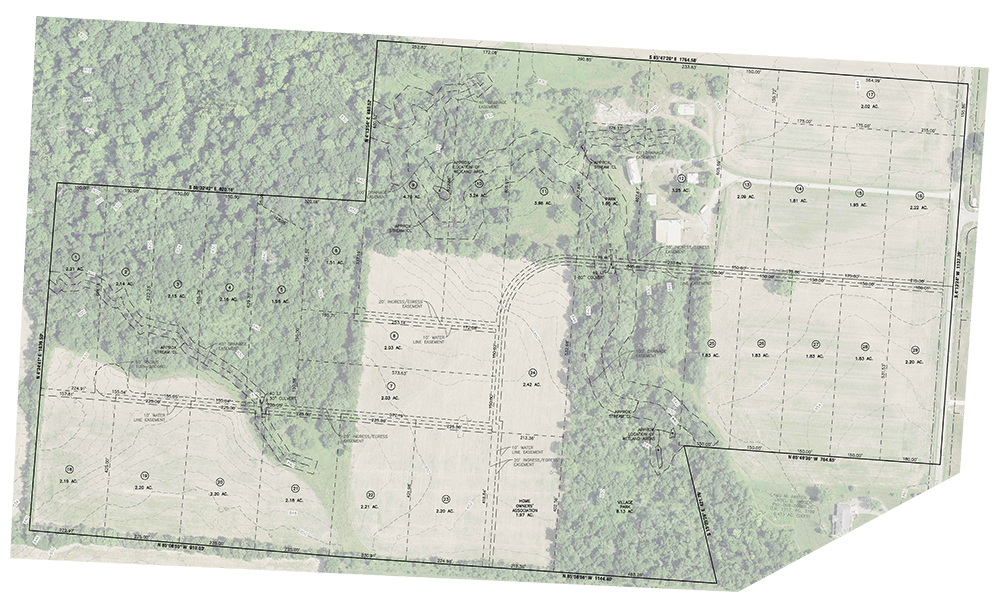 Zwayer Woods public development plan